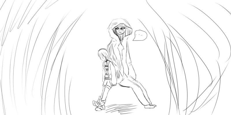 [살육의천사][콘티만화]천사의 집